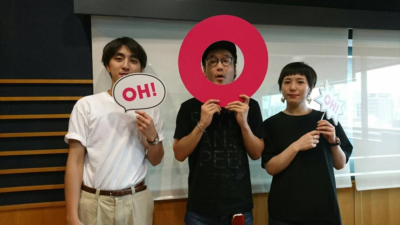 画像: 「LILI LIMIT」からVo.Gt.牧野純平さん、Ba.黒瀬莉世さんでした〜♪