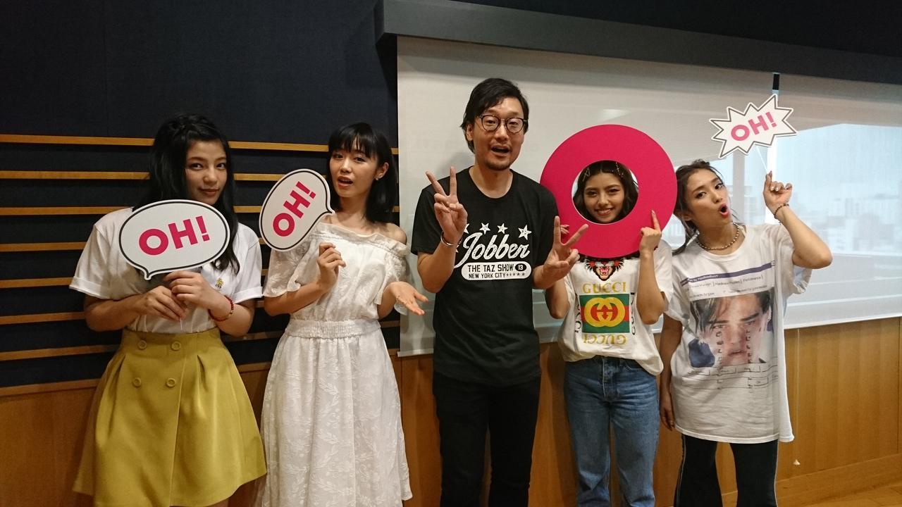 画像: 今日のゲストは「E-girls」からSAYAKAさん、YURINOさん、鷲尾玲奈さん、石井杏奈さんでした!