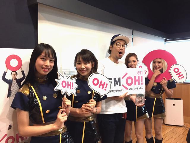 画像: お久しぶりの「BsGirls」の皆さん!CHALさん、MIYUさん、AOIさん、AIRIさんが来てくれました♪