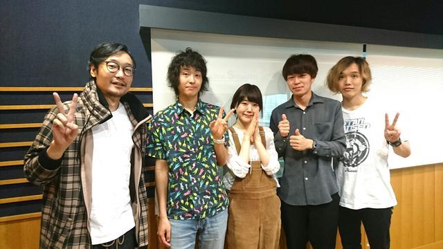 画像: 本日のゲストは「Shiggy Jr.」!実はメンバー4人がスタジオに来てくれていたんですよ♪