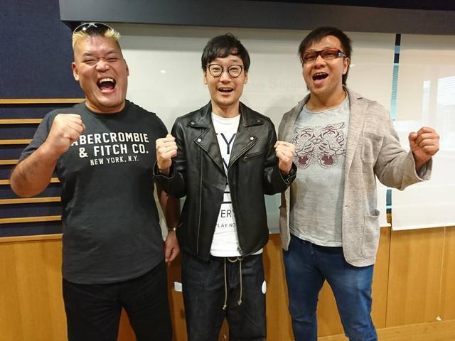 画像: 10月24日(火)Guest:「新日本プロレス・天山広吉選手&小島聡選手」