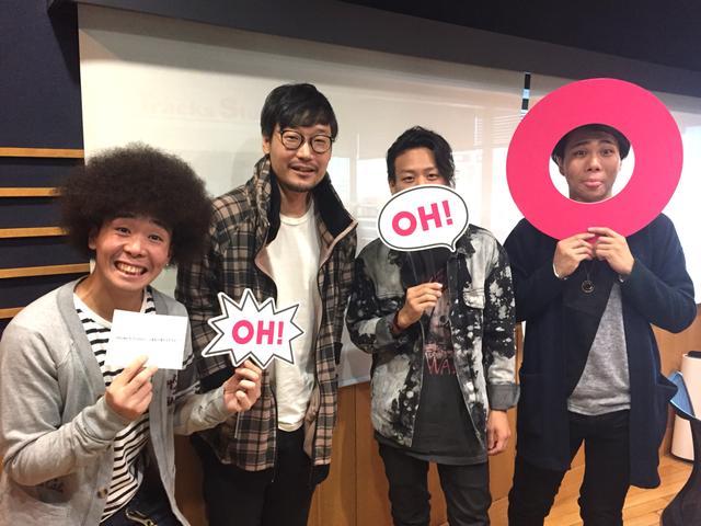 画像: 呪い(?)にかかったYu-Kiさん、呪い(?)にかかりかけのKENTさん!お大事に!DJ KAZUMAさんは元気そう!(笑)