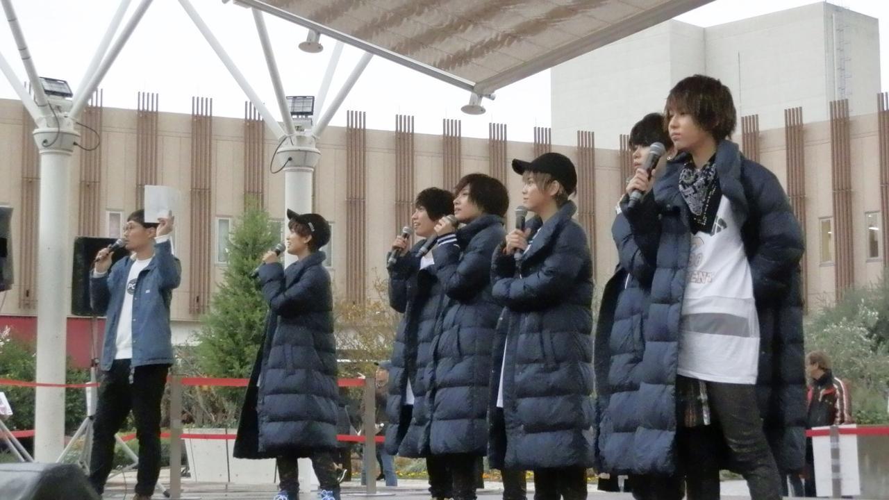 画像1: 11月22日(水)「風男塾との公開録音!」