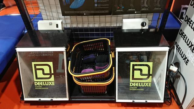 画像: 「DEELUXE」の成型用専用オーブン!オーダーメイドのインナーが作成できます!