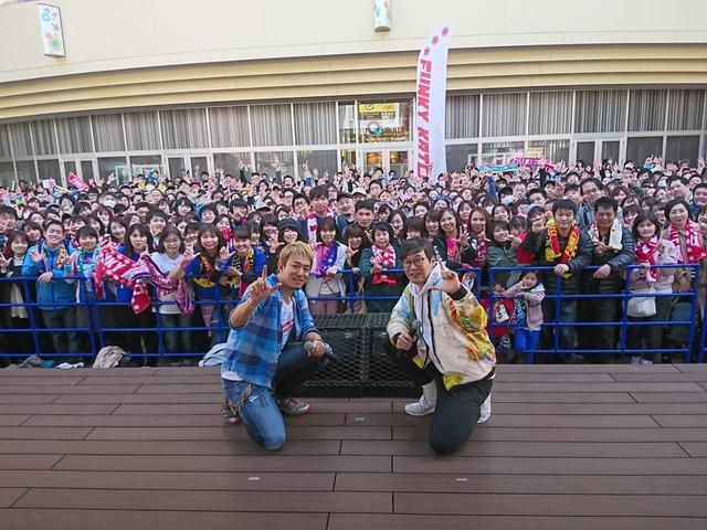 画像: 最後に記念写真!ファンキー加藤さん、そしてお集まりいただいた皆さん、ありがとうございました〜!