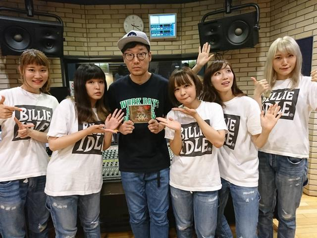画像: 8月2日(木)Guest:「BILLIE IDLE®️」