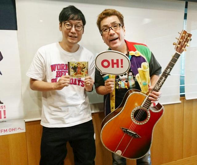 画像: 8月14日(火)Guest:「嘉門タツオ」さん