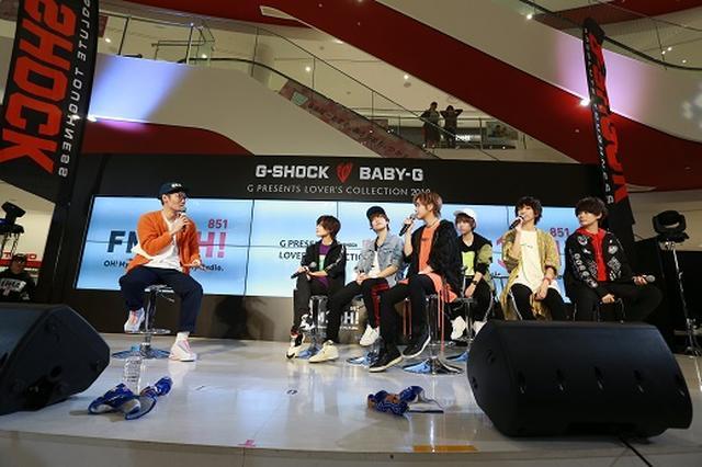 画像1: 「G-SHOCK&BABY-G presents Music Bit~CHRISTMAS SPECIAL~」:風男塾