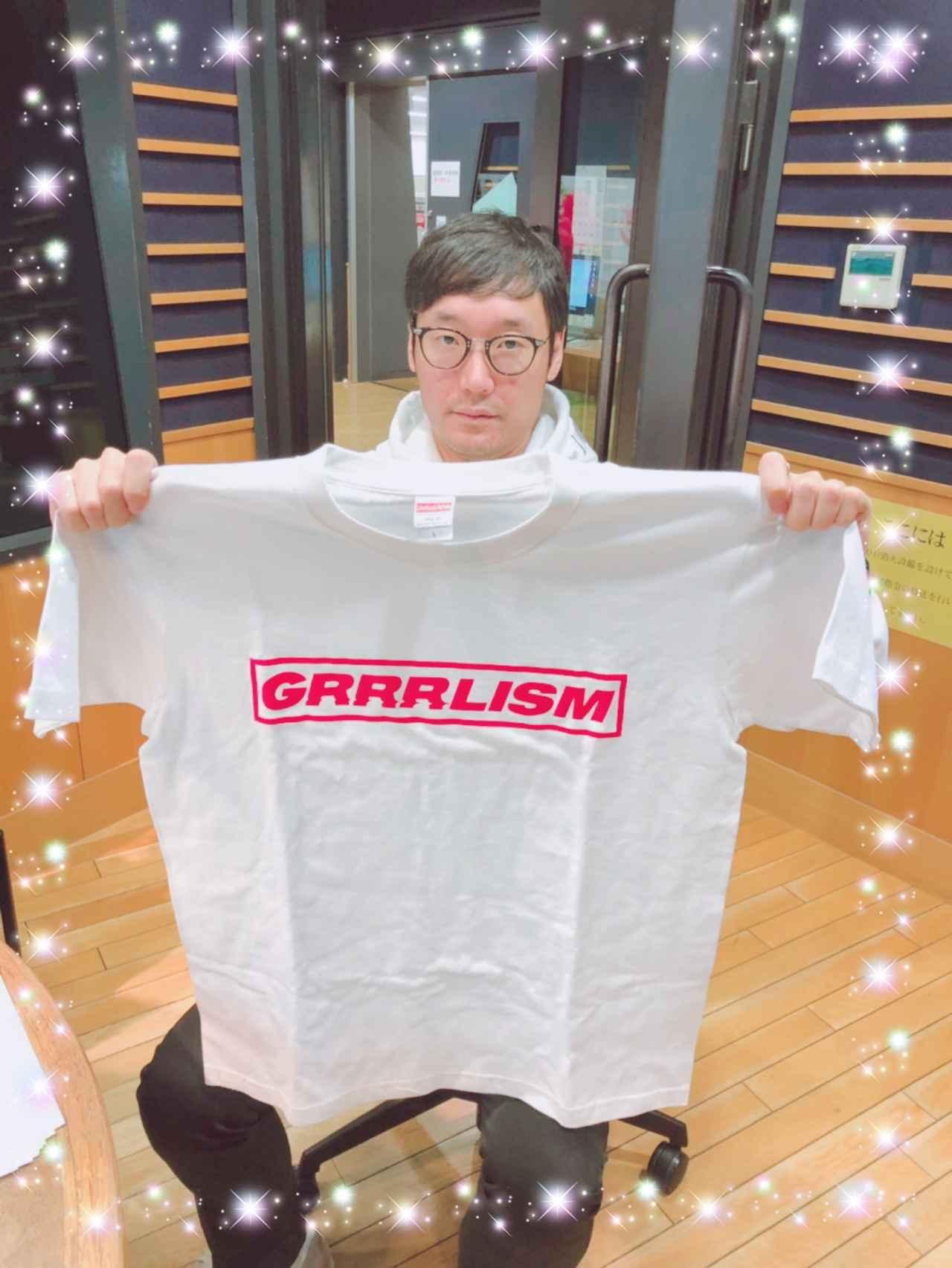 画像: 今日のプレゼント「あっこゴリラのTシャツ」です!