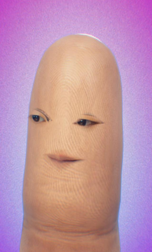 画像: 指になってしまったエンドゥさん…!?