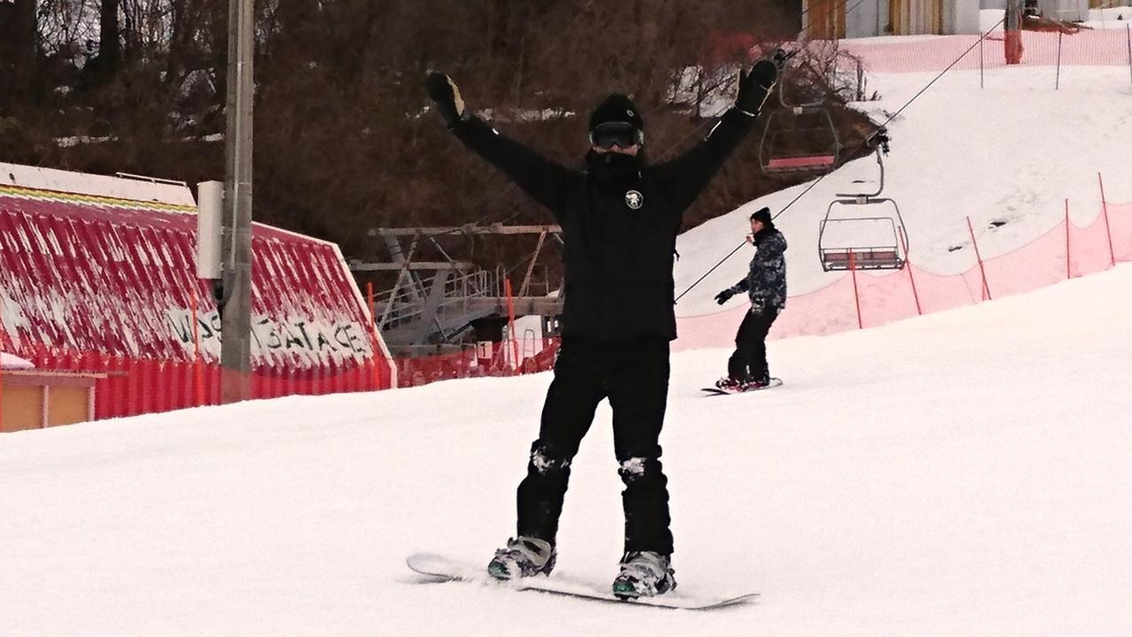 画像1: ☆鷲ヶ岳スキー場に行ってきました☆