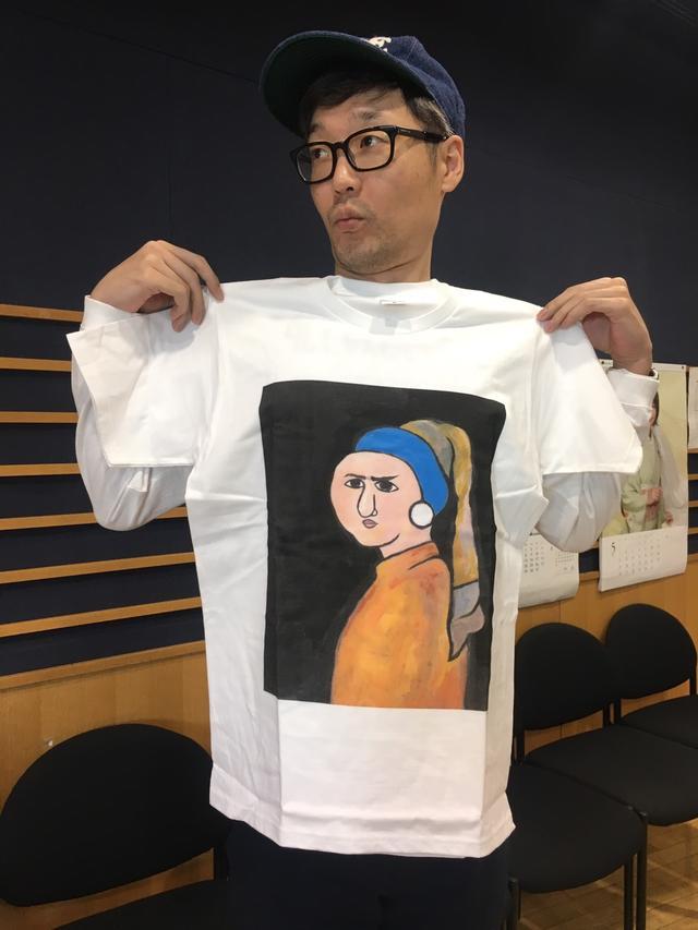 画像: 今日のプレゼント『コンフィデンスマンJP』オリジナルTシャツ! ダー子ちゃん作!超かわいい!!!!