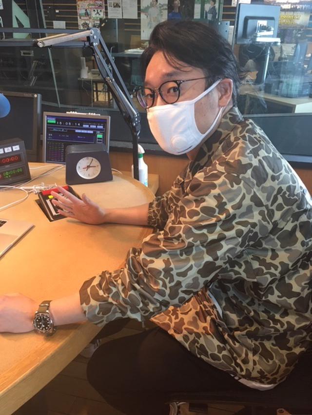 画像: 植田さんはスタジオにいらっしゃらないので今日もえんどぅさんのソロ写真です。