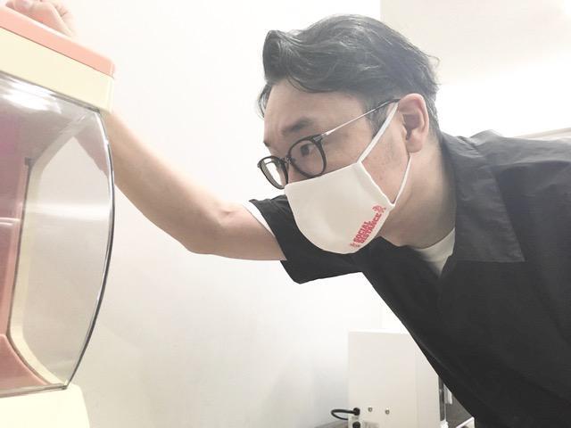 画像: 新しいマスクが届いたそうです。