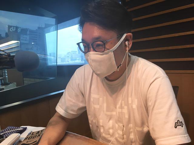 画像: 上野さんはスタジオにいらっしゃらないため、えんどぅさんのソロ写真となります。