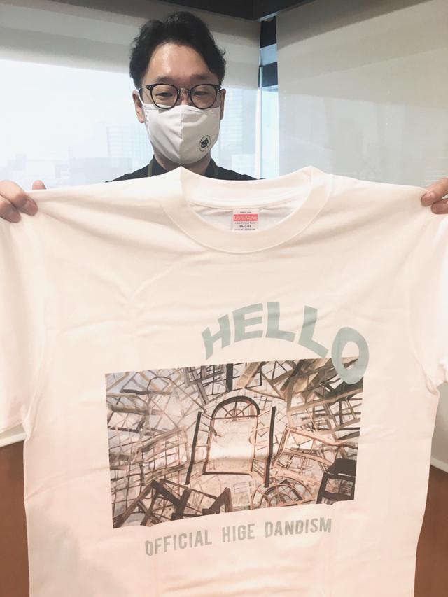画像: Official髭男dismのTシャツプレゼントはもちろん今日もやりますよ!