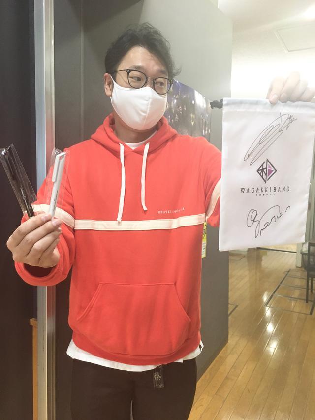 画像: 和楽器バンド、鈴華さん・町屋さんのサイン入り巾着&ペンは今日がラスト!エントリーお待ちしております!