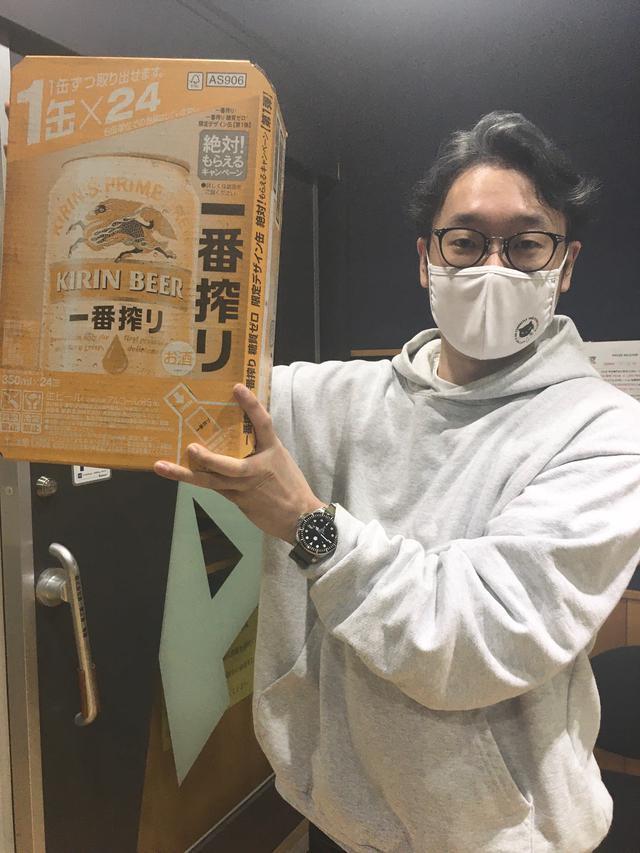 画像: 今週はキリン一番搾り1ケースをプレゼント!「大阪が1番!と思うところ」を書いてエントリーして下さい!