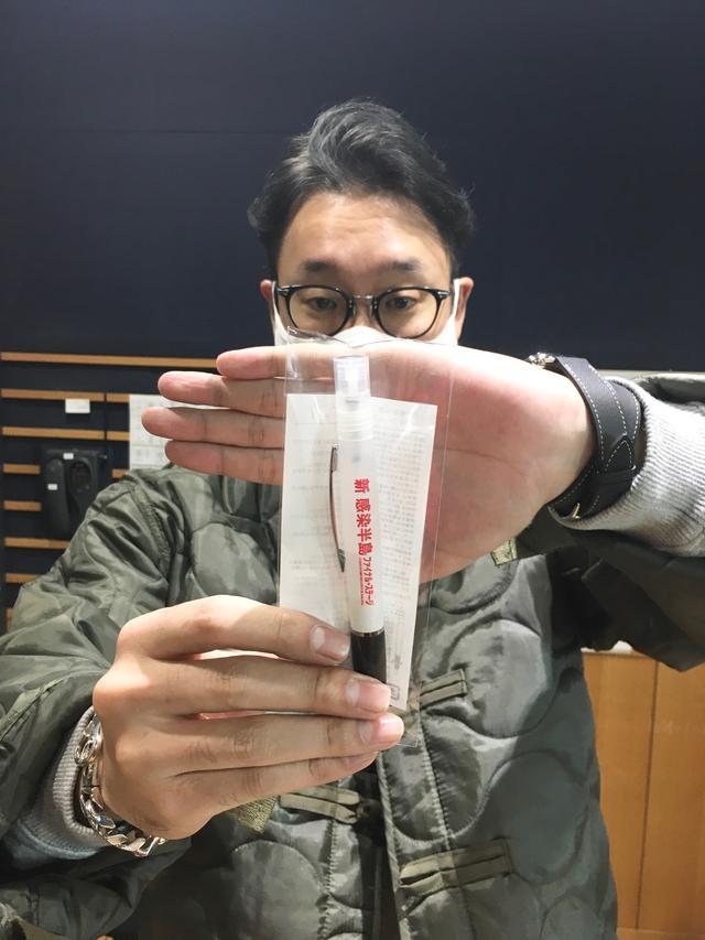 画像: 今日は「新感染を防ぐ 消毒スプレーペン」をプレゼント!!