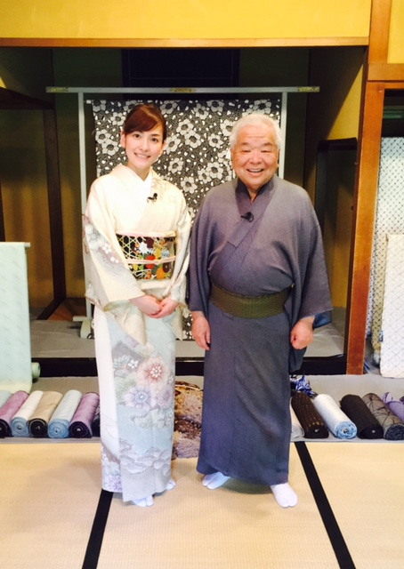 画像: 八代目・竹田嘉兵衛さん。 お話がとっても興味深くて、魅力に溢れる方でした♪