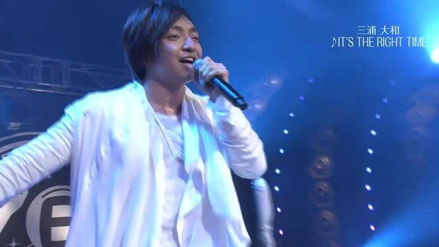 画像: 【三浦大知】 「IT'S THE RIGHT TIME」 BOMBER-E LIVE www.youtube.com