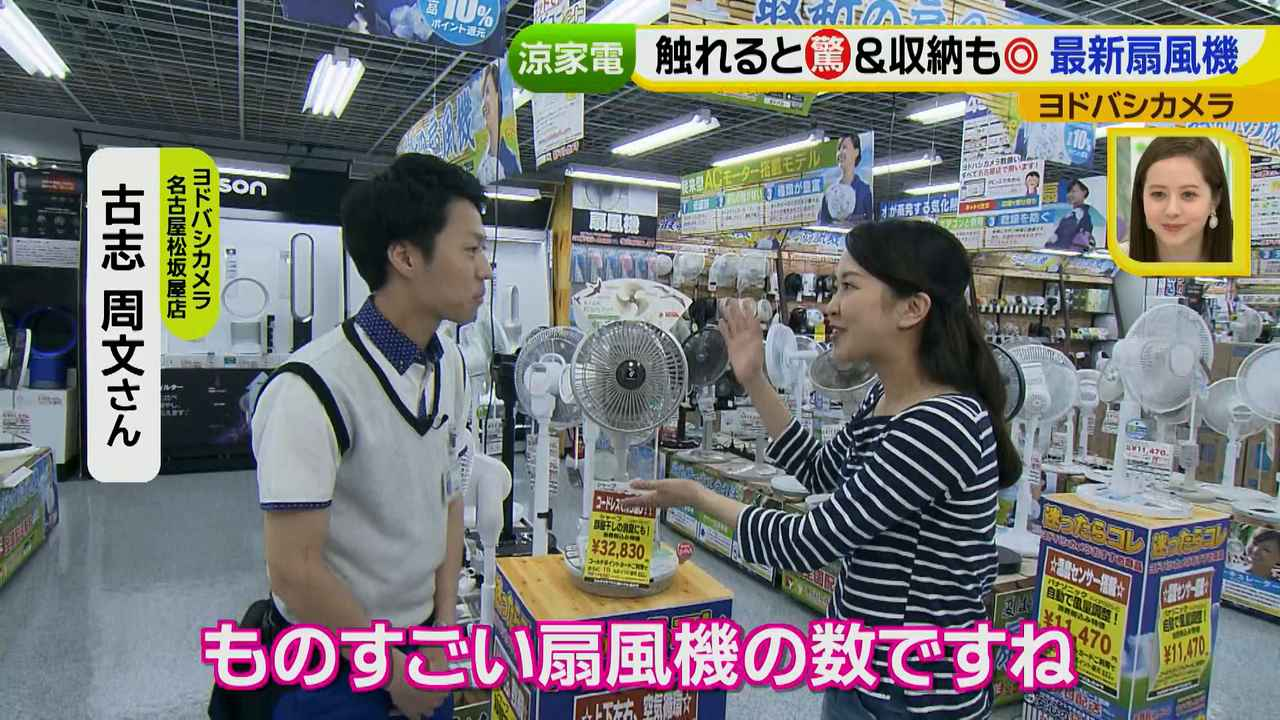 画像2: 普通触りませんが、触ってもいい扇風機 など最新家電