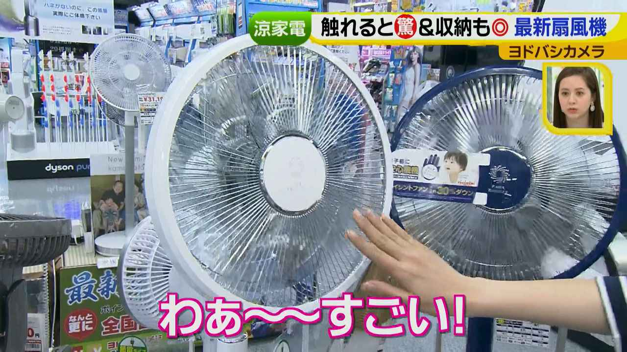 画像13: 普通触りませんが、触ってもいい扇風機 など最新家電
