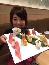 画像: JRゲートタワーのレストラン街の取材は念願でした!嬉しい! 写真は少し食べてしまった後ですみません…。