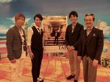 画像: 水谷豊さん、HIDEBOHさん、清水夏生さんと