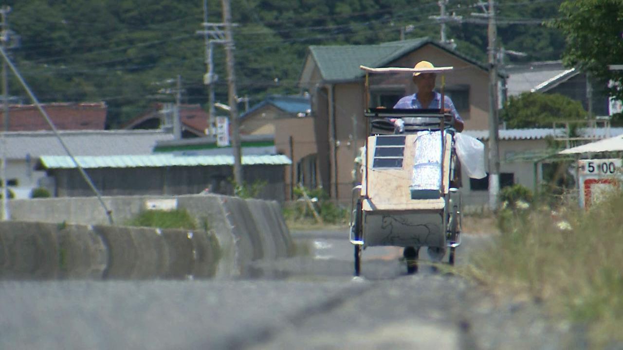 画像2: 日本一周 リヤカーの旅!鈴木康吉さんの言葉が胸に沁みる・・・