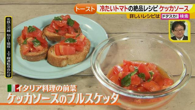 画像20: 朝のトースト アレンジレシピ イタリアの定番篇