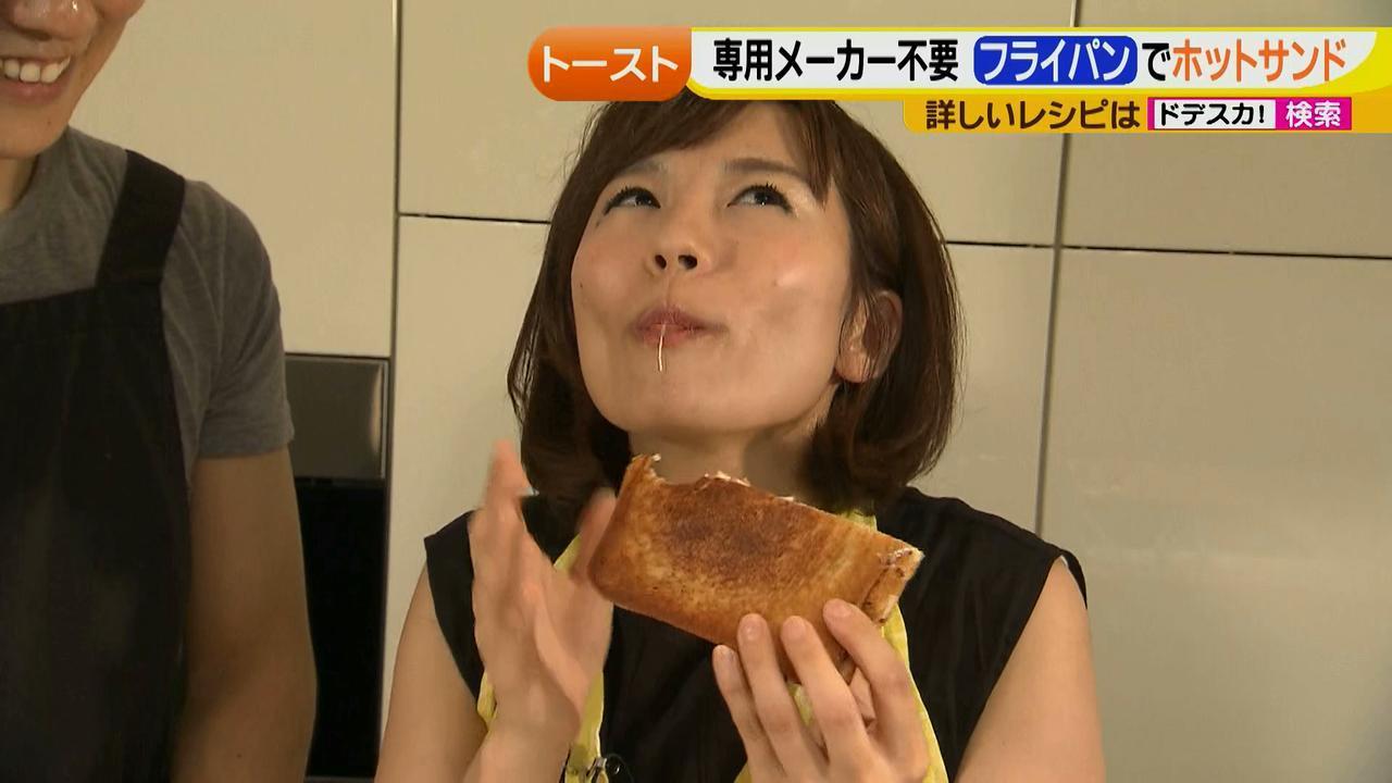 画像27: 朝のトースト アレンジレシピ フライパンで作る篇