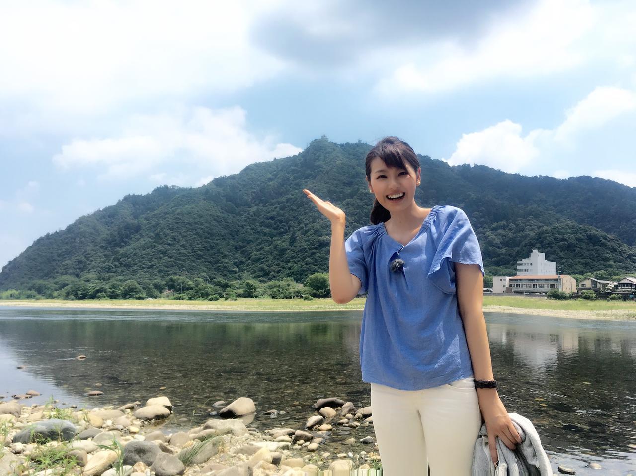 画像: これぞ岐阜!金華山と長良川