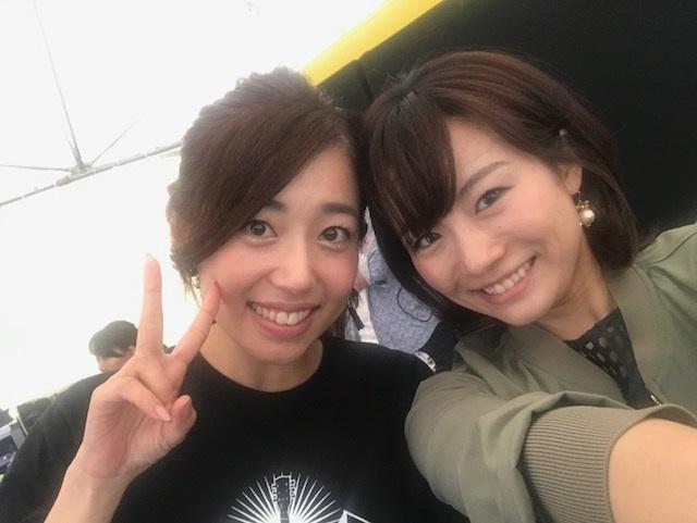 画像: 奈都子さんとライブに行く年もありました。 写真は今年のメ~テレ秋まつりにて♪