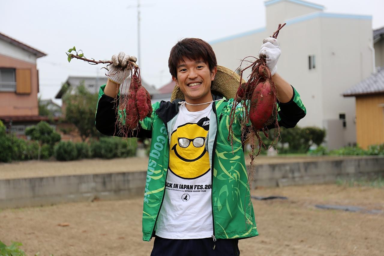 画像1: 堂野浩久、自給自足