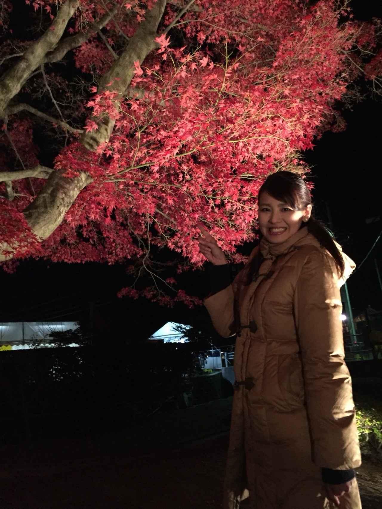 画像: 石神愛子 紅葉であったまろう!