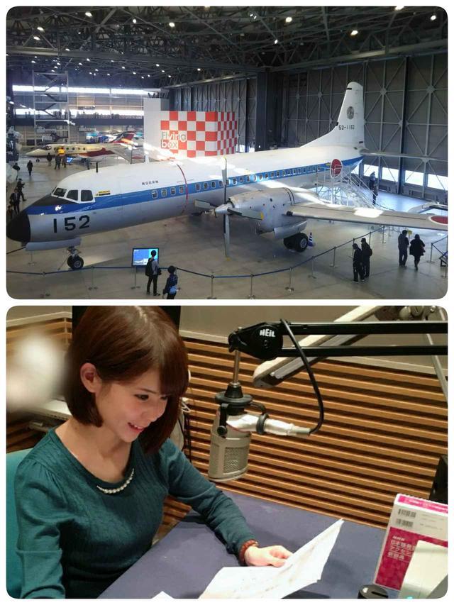 画像: あいち航空ミュージアムに展示されている国産初のプロペラ旅客機・YS-11
