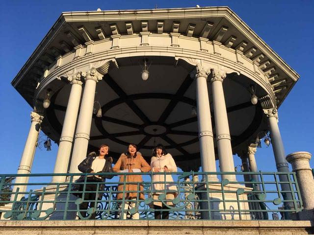 画像: 朝の鶴舞公園では「ワッハッハ体操」なるものが…