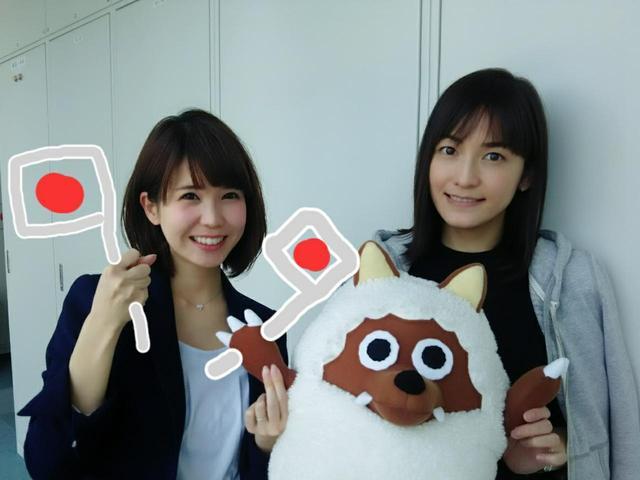画像: お昼ニュースの後、鈴木しおりアナと オリンピックの話題でもちきり!
