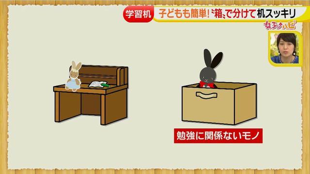 画像7: 物置から勉強する場へ!学習机の片づけ方♪