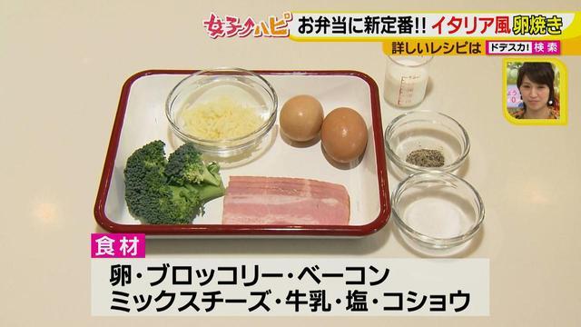 画像4: 健太先生のかんたん洋風お弁当レシピ イタリア風オムレツ フリッタータ♪