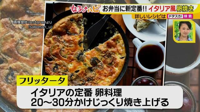 画像3: 健太先生のかんたん洋風お弁当レシピ イタリア風オムレツ フリッタータ♪
