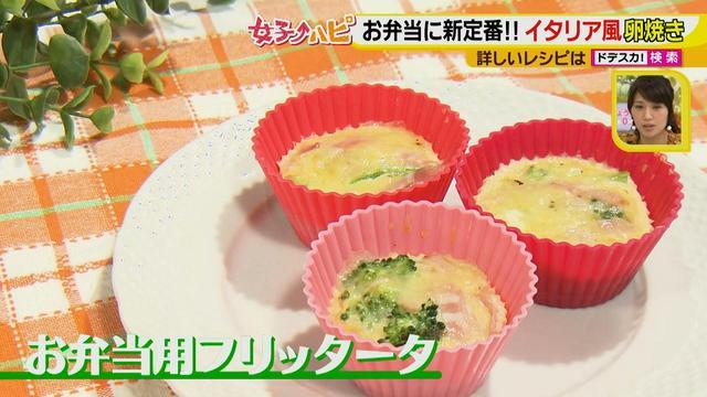 画像11: 健太先生のかんたん洋風お弁当レシピ イタリア風オムレツ フリッタータ♪