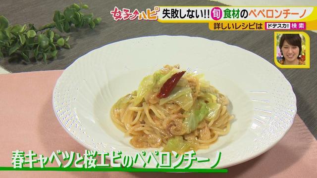 画像15: 健太先生のイタリアン超簡単レシピ 春キャベツと桜エビのペペロンチーノ♪