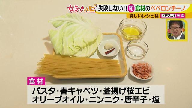 画像3: 健太先生のイタリアン超簡単レシピ 春キャベツと桜エビのペペロンチーノ♪