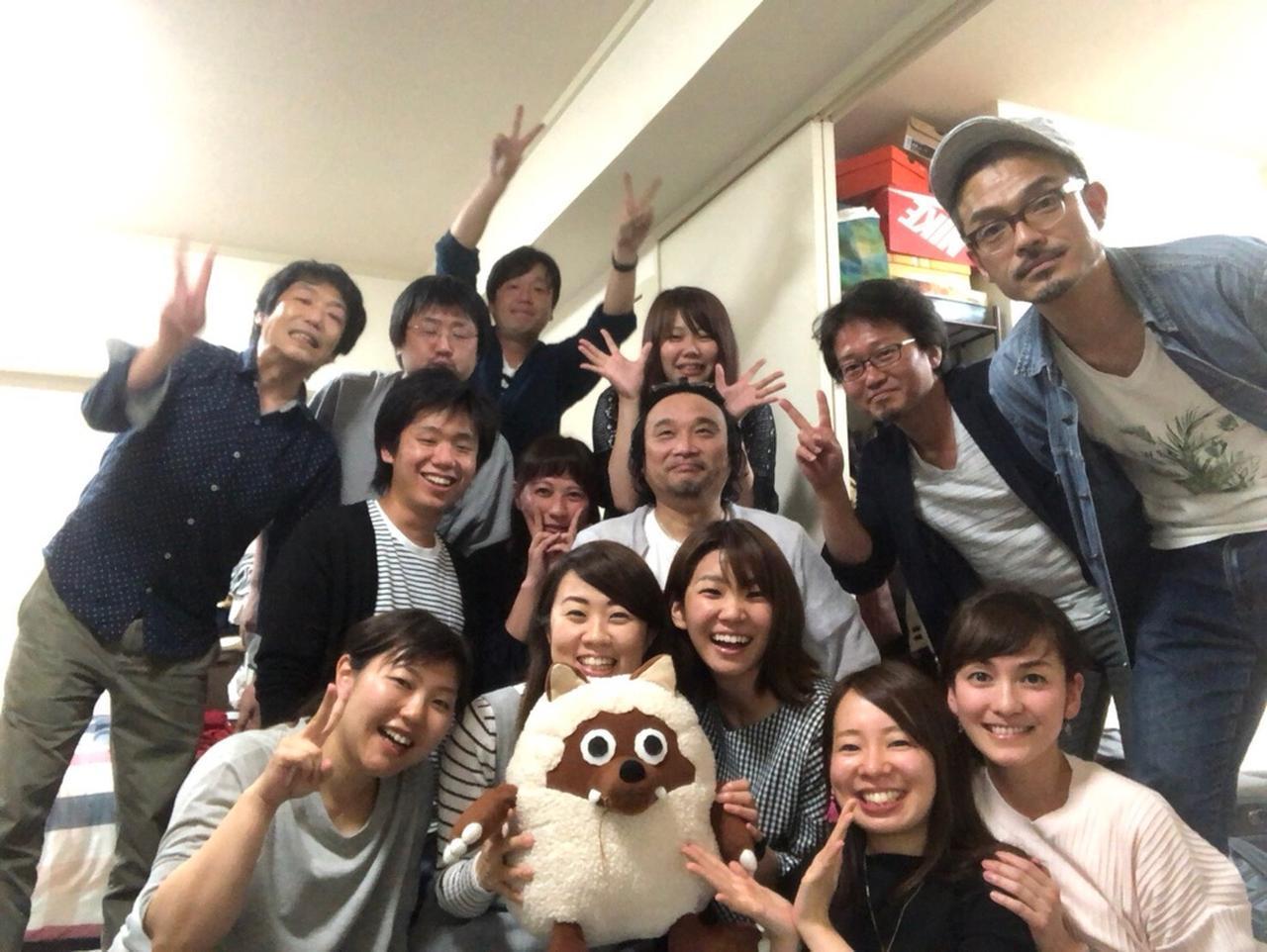 画像: この日は夢を追いかけて東京へ旅立つ仲間の送別会でした。 頑張ってね!しももん!応援してるよ!!