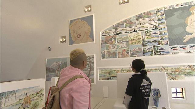 画像6: 薄暑の空に映えるモザイク 岐阜・多治見市の旅