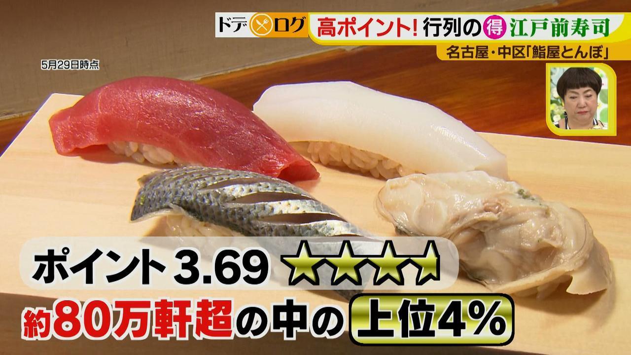 画像2: トロ発祥店の味が名古屋でお得に味わえる!行列必至の鮨ランチ♪