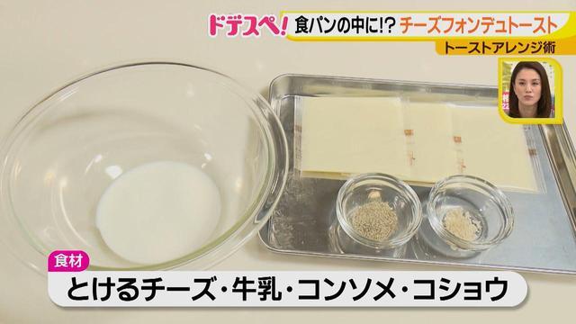 画像1: トーストをおいしく食べよう♪ 食べるのが楽しいチーズフォンデュトースト!