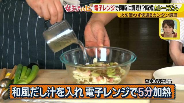 画像7: 涼しく作ろう!電子レンジでカンタン&快適調理のカレーうどん♪